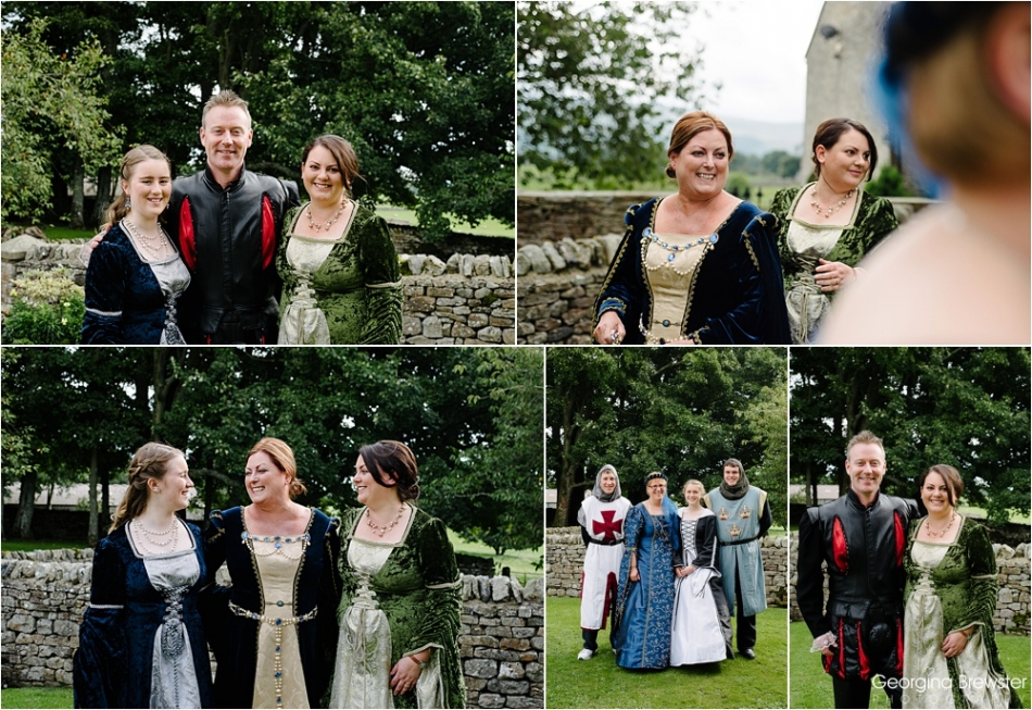 Bolton Castle Medieval Wedding Photography